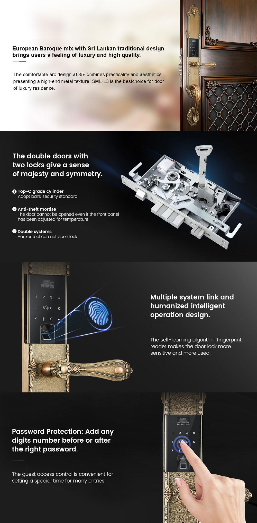 Luxury Door Lock Sri lanka